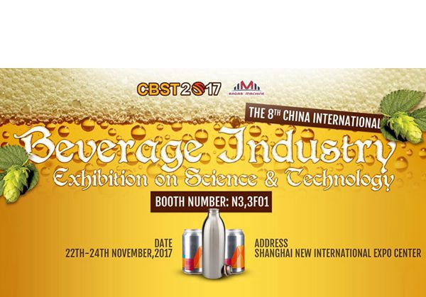 Welcome to The 8th China International Beverage Industry Exhibition on Science & Technology !